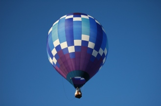 bluenpurple balloon